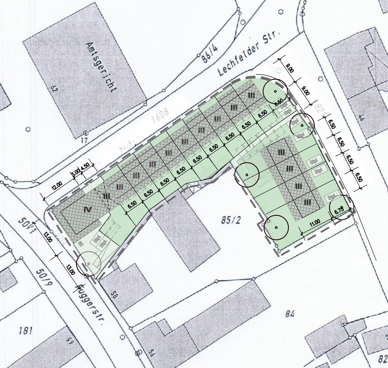 Berz Architekten: Neubau Mehrfamilienhaus 15 Wohnungen