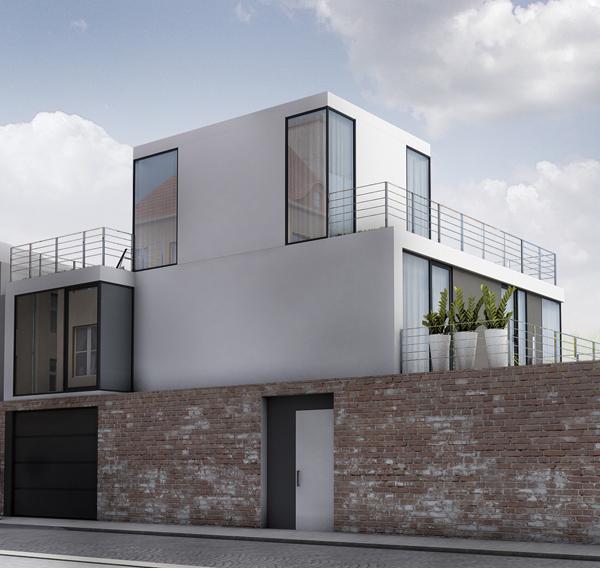Berz Architekten: Neubau Eines Einfamilienhauses